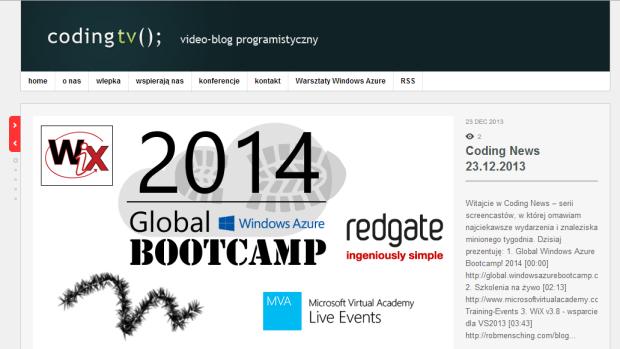 Coding News 10.02.2014